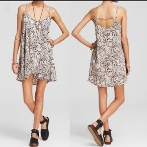 Intimately Free People Paisley Slip Dress Sz XS